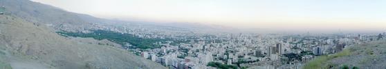 Panoramic Photo - Bam e Tehran